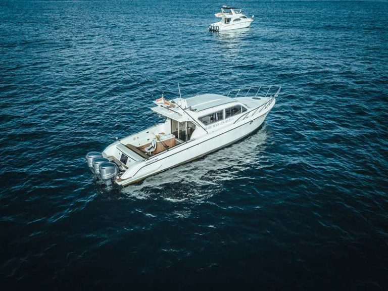 Яхта Blue marlin Bali на воде, фото 9