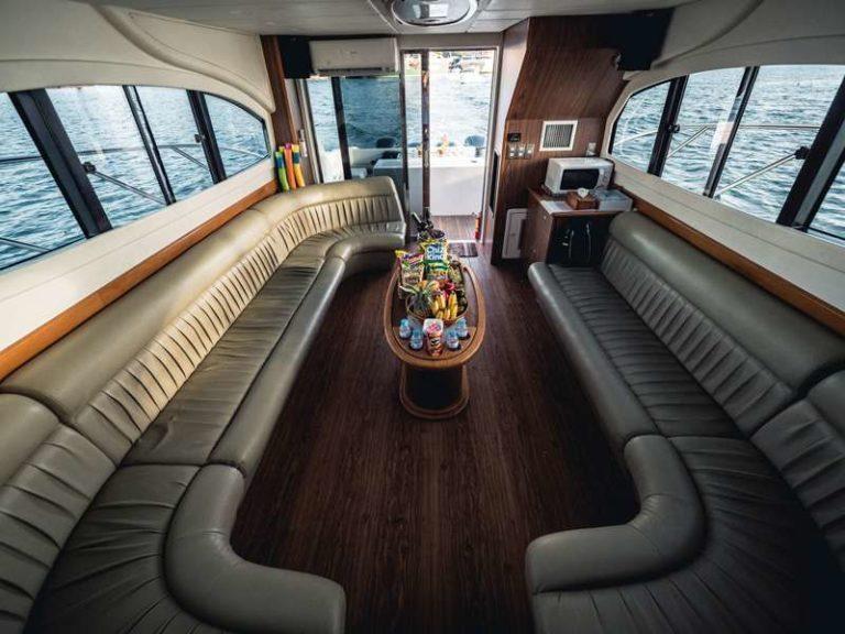 Яхта Blue marlin Bali внутренний интерьер, фото 9