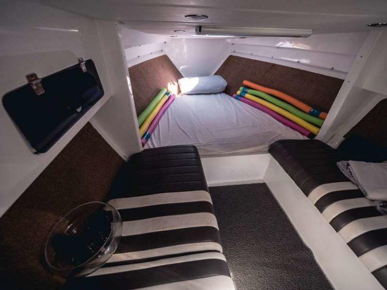Яхта Blue marlin Bali внутренний интерьер, фото 12
