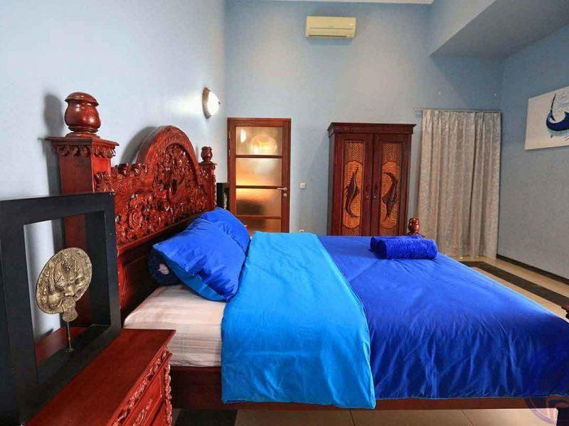 Вилла Сингараджа, спальня
