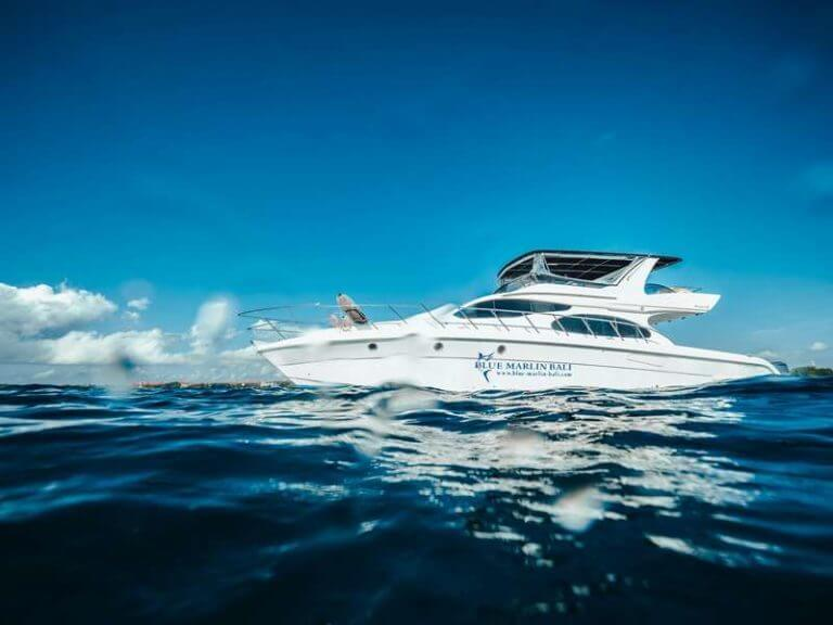 Luxury Boat Hire Bali | Bluemarlin Bali